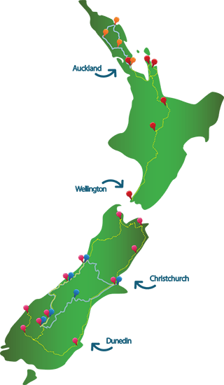 14 Day Exclusive North and South Island Luxury Tour