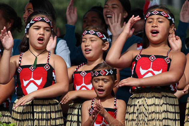 Kapa Haka traditional dance