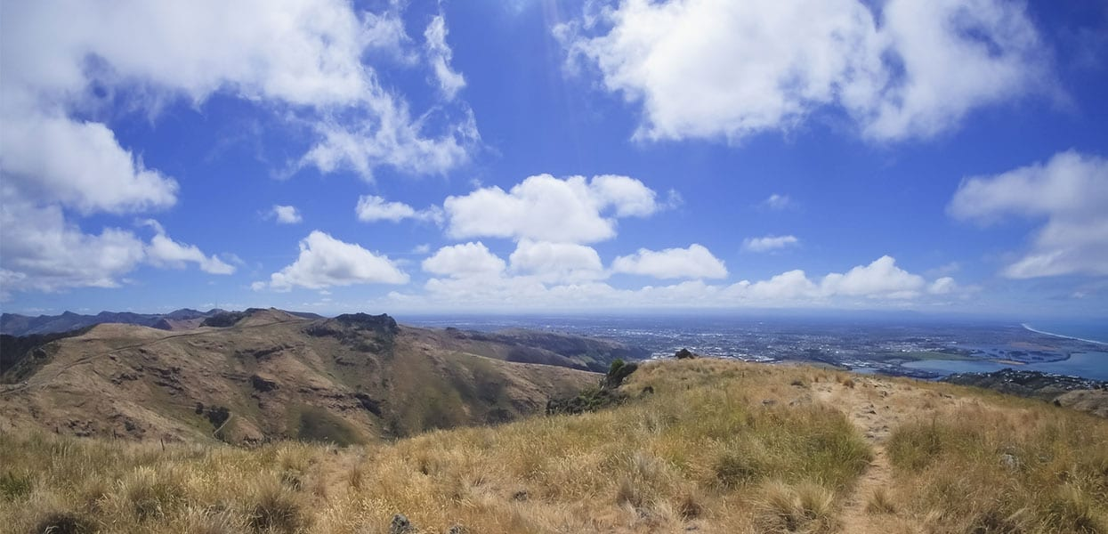 Take a drive on the Port Hills