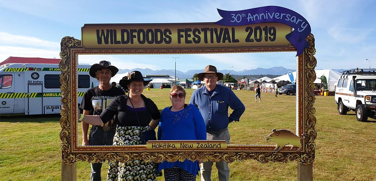 The Hokitika Wild Foods Festival