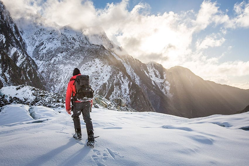 Mountain Guide, Franz Josef Glacier, New Zealand